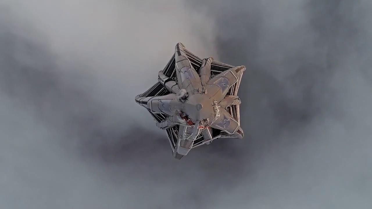 Лахта центр в тумане