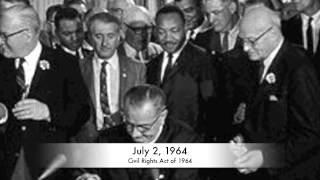 Civil Rights Movement Timeline, 1954-Present Day