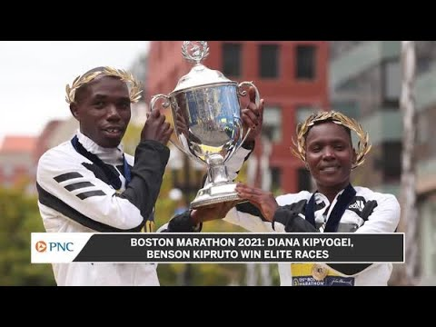 2021 Boston Marathon: Kenya's Benson Kipruto (men's), Diana ...