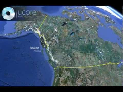 Rare Earth Metals Investments -  3D Animation of Ucore Bokan Project