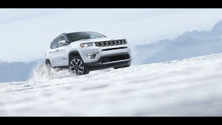 THE NEW CAR 2018 JEEP  COMPASS LIMITED BEST-IN-CLASS 4x4 CAPABILITY DOMINATING