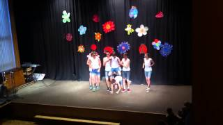 Macho man dance, 9 třída Halenkovice