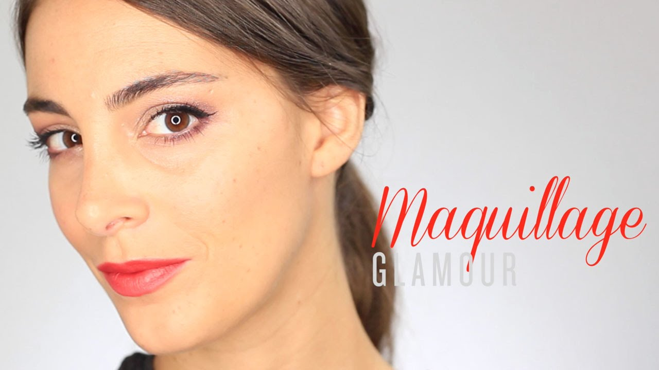 Tuto maquillage de soir e glamour et romantique youtube - Tuto maquillage soiree ...