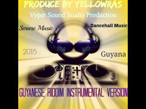 Guyanese Riddim-Instrumental-Version-Beats-Smare-Dancehall Music-Guyana-2015-By YellowRas-Artiste