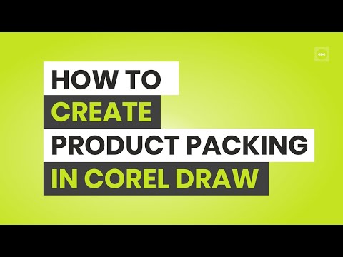 How to Create Product Packaging For Oil Cane in Corel Draw