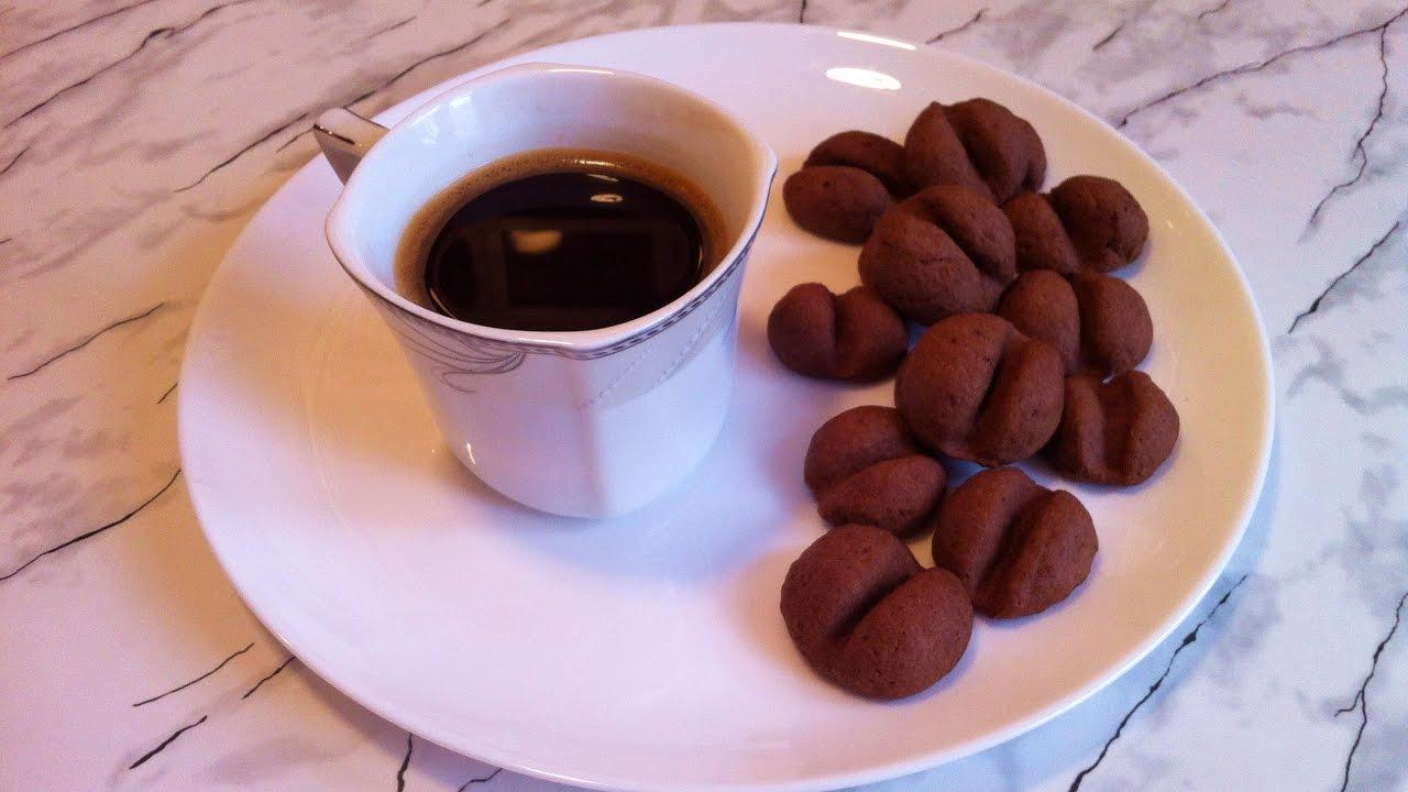 Видео кофейное печенье рецепт 1