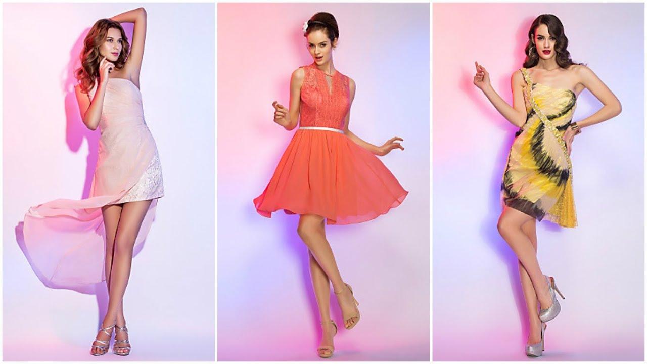 Moda 2018 ♥ VESTIDOS PARA FIESTA JUVENILES #Moda # Vestidos ...