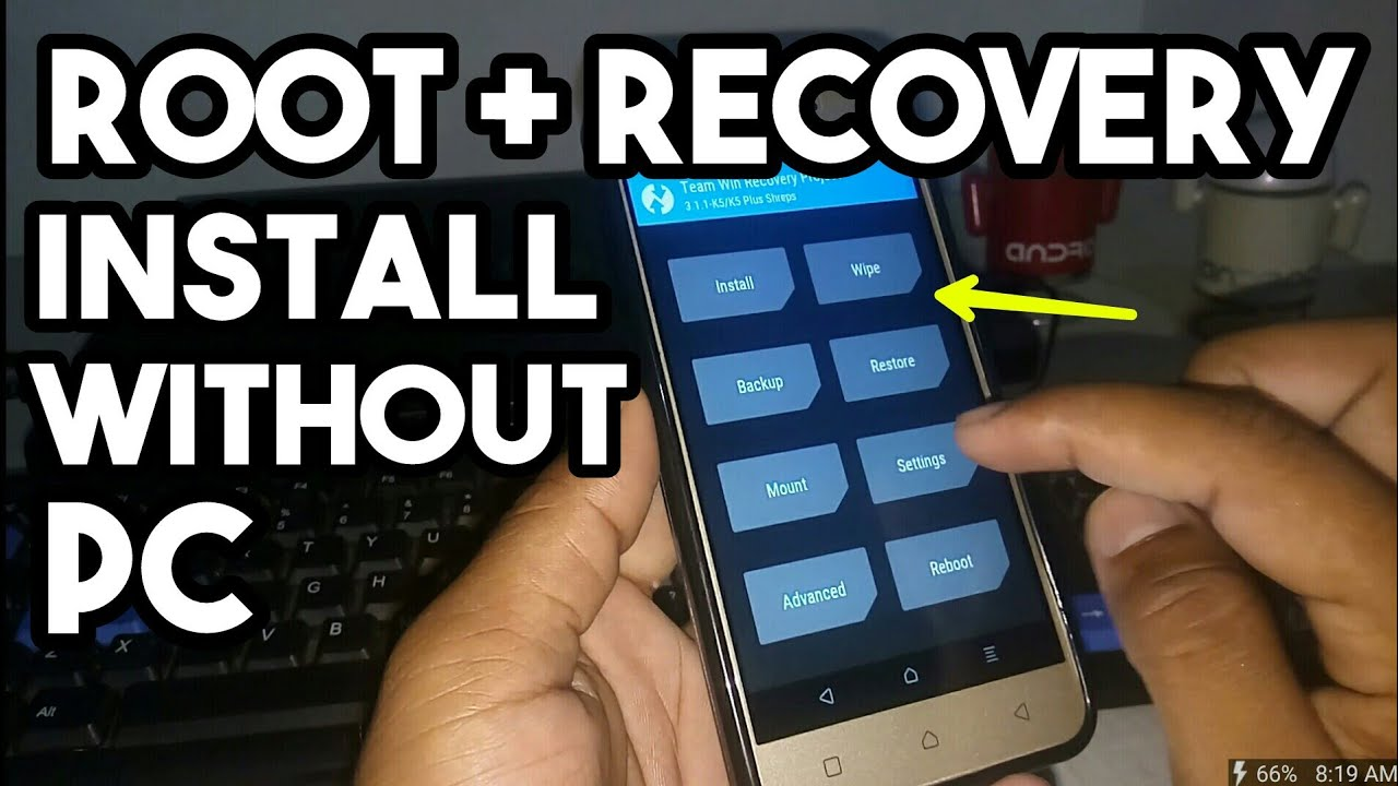 How To Root + install Recovery + Bootloader Unlock Without Computer    For  Lolipop Below Version