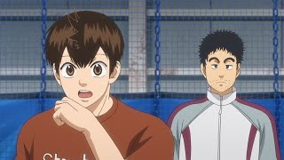榊原(さかきばら)コーチの提案により、栄一郎(えいいちろう)と奈津...
