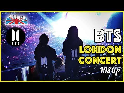 BTS London Concert O2 Arena 하이라이트 고해상도 직캠!!!유럽아미들의 폭발적인 반응!!!