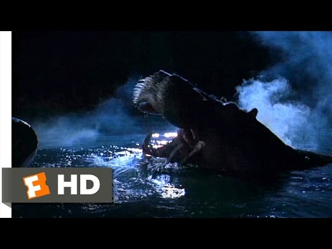 Congo (6/9) Movie CLIP - Hippo Attack (1995) HD
