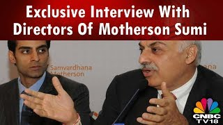 Gambar cover Exclusive Interview With Directors Of Motherson Sumi   CNBCTV18