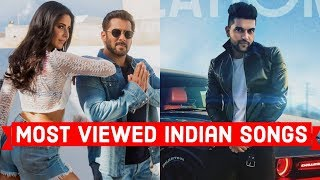 Top 50 Most Viewed Indian/Bollywood Songs on YouTube
