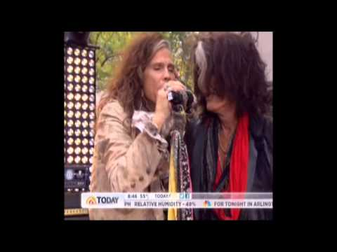 Aerosmith Today Show 11/02/12 Part 3