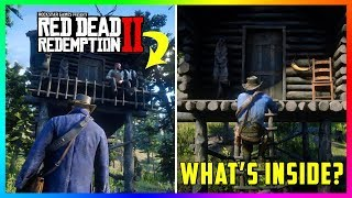 What Happens If You Get Inside Of The Escaped Criminal's SECRET House In Red Dead Redemption 2?