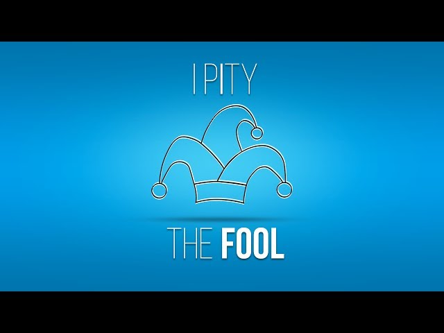 I Pity The Fool Part 4 - Pastor Randon Clark