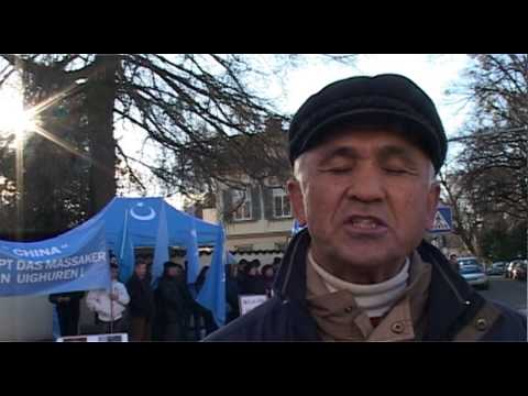 East Turkestan Union in Europe (ETUE) Protest Against the Chinese State-Terror in East Turkestan