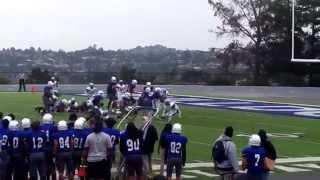 College Of San Mateo Bulldogs Football Quarterback Dru Brown