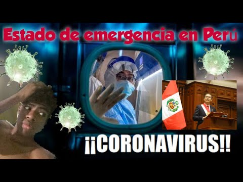 Estado de emergencia por CORONAVIRUS en Perú - DÍA 1 - YM