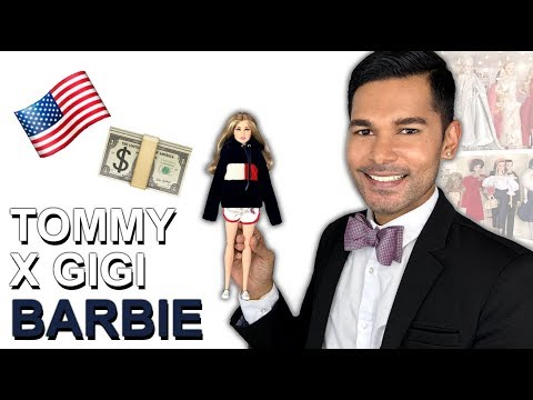TOMMY X GIGI HADID Barbie Doll - Barbie Collector - Review