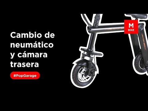 Joyor Scooter Cambio Del Neumático Y De La Camara Traseros Del Mbike