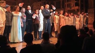 Mike Pence booed by crowd, addressed by cast of Hamilton