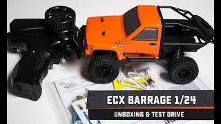 ECX Barrage 1/24: Unboxing & Test Drive