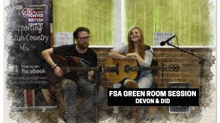 Devon Mayson and Did Coles FSA Green Room Session