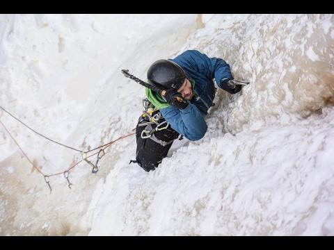 Ice Climbing | Powerline Falls - Kama Bay, Ontarioby: Aric Fishman & Paul Desaulniers