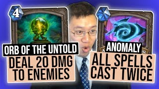 UNLIMITED POWER Anomaly Run | Heist Ch. 1 | Rise of Shadows | Hearthstone