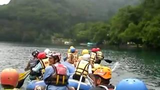 白馬アドベンチャークラブ 青木湖ボート講習2010.7.9 その1