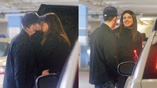 Priyanka Chopra Gives A Goodbye Kiss To Husband Nick Jonas Publicly At Airport
