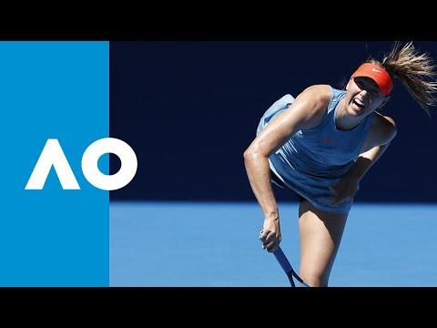 Maria Sharapova v Harriet Dart match highlights (1R) | Australian Open 2019