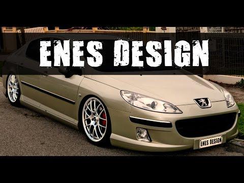 Peugeot 407 Virtual Car Tuning (Adobe Photoshop Cs6)