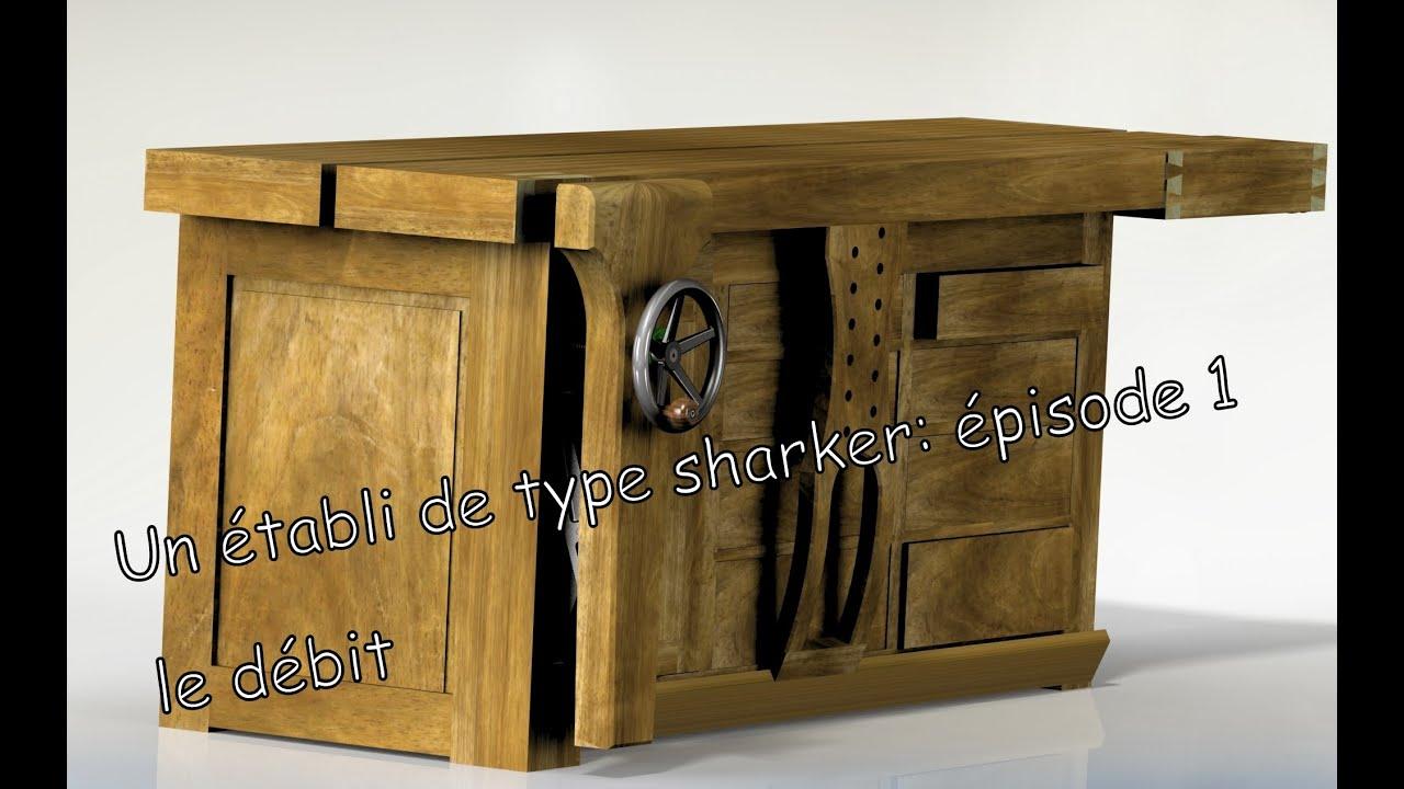Un tabli de type shaker le d bit 1 youtube - Etabli salle de bain ...