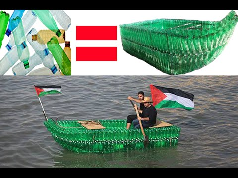 make a boat from Empty plastic bottles 2015 HD - sks bottles ...