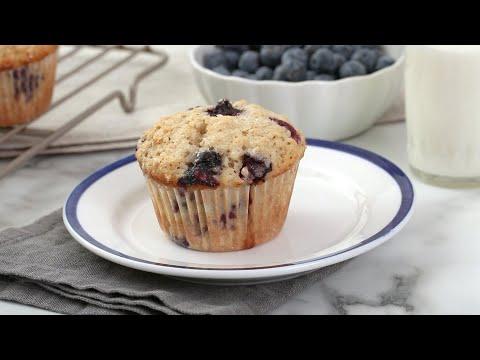 Blueberry-Oatmeal Muffins Martha Stewart