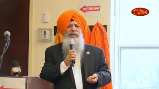 Dr. Amarjit Singh's Forceful  Speech Emphasizing Family Values & Debating Khalistan Issue
