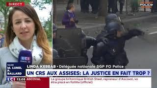 ON PREND NOTRE COLLÈGUE COMME BOUC ÉMISSAIRE POUR CALMER LA VINDICTE - LINDA KEBBAB SUR LCI