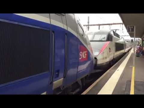 TGV At Poitiers