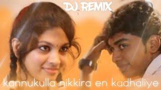 kannukulla nikkira En kadhaliye DJ remix [BASS BOOSTED ]