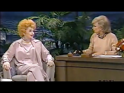 Lucille Ball interview with Joan Rivers on