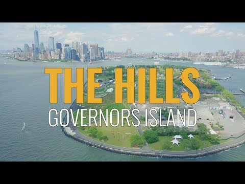 Above New York - The Hills on Governors Island