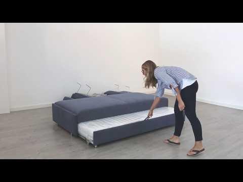 Bali Schlafsofa Zoom - YouTube