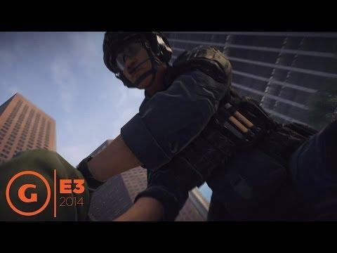 Battlefield Hardline - E3 2014 Gameplay Demo at EA Press Conference