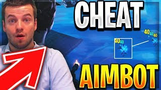I TOMBE TO THE MORE BIG CHEATER FORTNITE OF THE SAISON 9 😱 AIMBOT IN BATTLE ROYALE