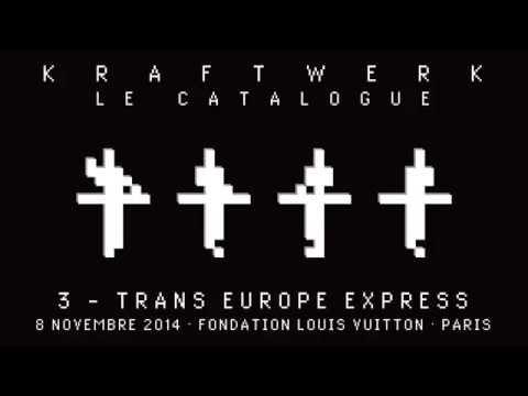 Kraftwerk - Le Catalogue 3 - FLV, Paris, 2014-11-08