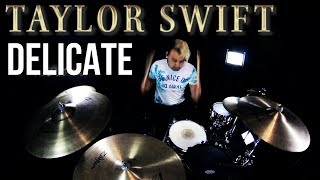 Taylor Swift - Delicate (Drum Remix) Video