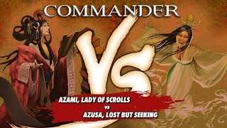 Commander Versus Series: Azami (David McDarby) vs Azusa (Danny West)