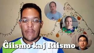Ĝiismo kaj Riismo (Ĝiismo and Riismo) #Esperanto #Venezuela #Ĝiismo #Riismo #EsperantoLives